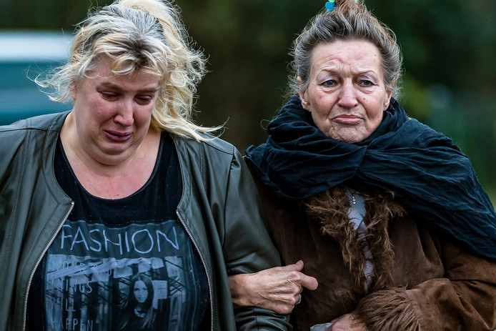 Bewoners Monique Damen en Sonja Dijker
