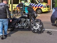 Motorrijder gewond na botsing in Eindhoven