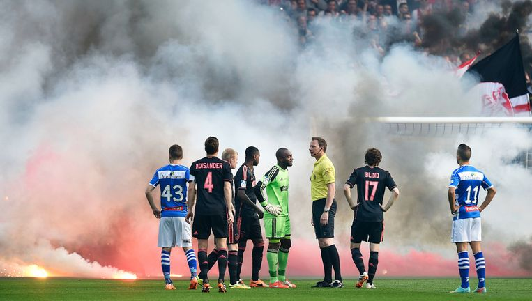 Beelden van Ajax - PEC Beeld Foto GuusDubbelman/de Volkskrant