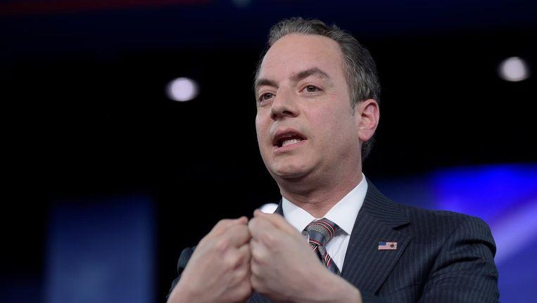 Stafchef Reince Priebus die volgens CNN contact heeft gelegd met de FBI over een lopend onderzoek. Beeld ap