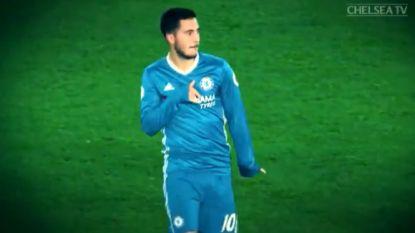 Hazard op z'n best: Chelsea feliciteert jarige dribbelkont met fantastische compilatie