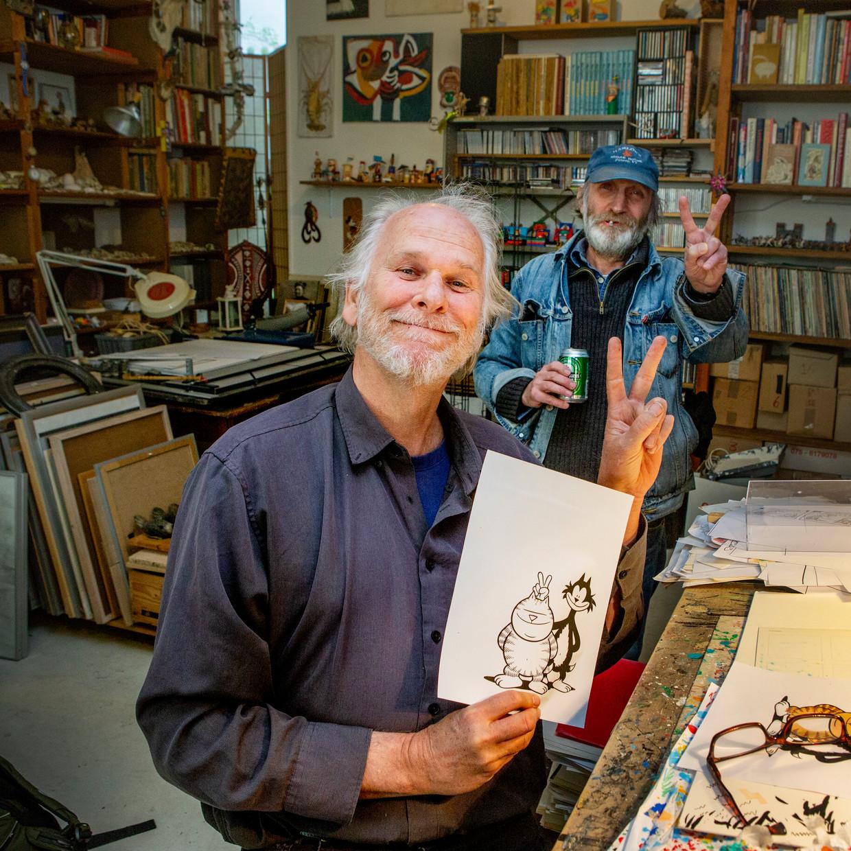 René Windig en Eddie de Jong