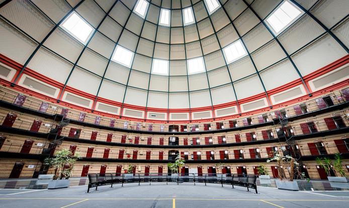 Interieur van de Koepelgevangenis in Breda. Archieffoto ANP