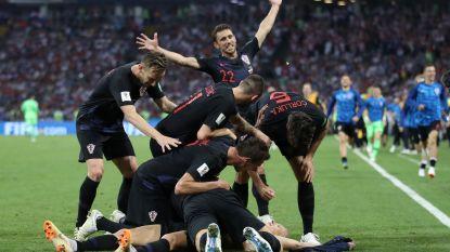 Rusland vocht als een kat met negen levens, maar het is voorbij! Kroatië zit na penalty's bij de laatste vier