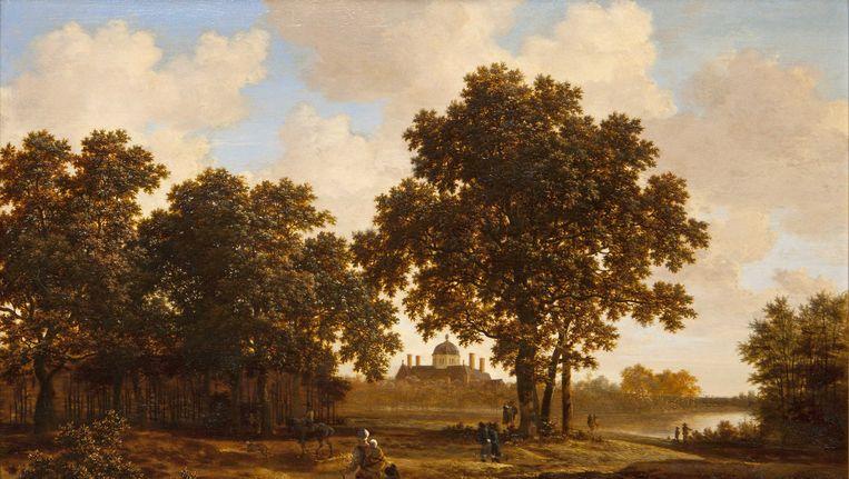 Het Haagse bos met gezicht op Paleis Huis ten Bosch, van Joris van der Haagen. Beeld ANP Handouts