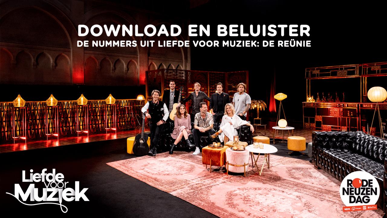 Download en beluister de nummers uit 'Liefde voor Muziek: de Reünie'