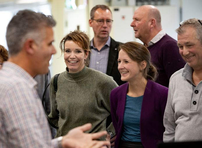 In Deurne maakten veehouders woensdag kennis met technische bedrijven in het project Baan zoekt Boer.