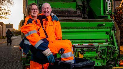 Liefde is... samen vuilnis ophalen: echtpaar Bea (55) en Ludo (57) rijdt rond met vuilkar