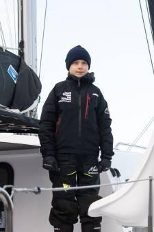 Greta Thunberg a quitté les États-Unis en catamaran