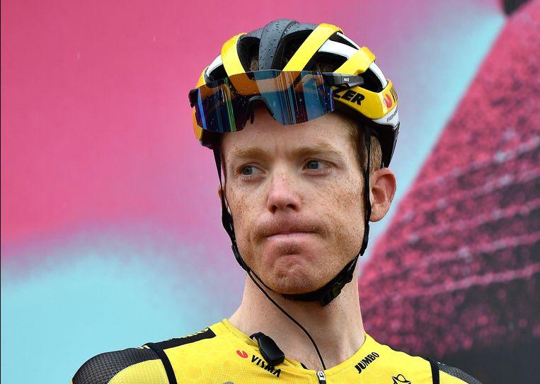 Steven Kruijswijk reed zondag zijn laatste Giro-etappe. Beeld EPA