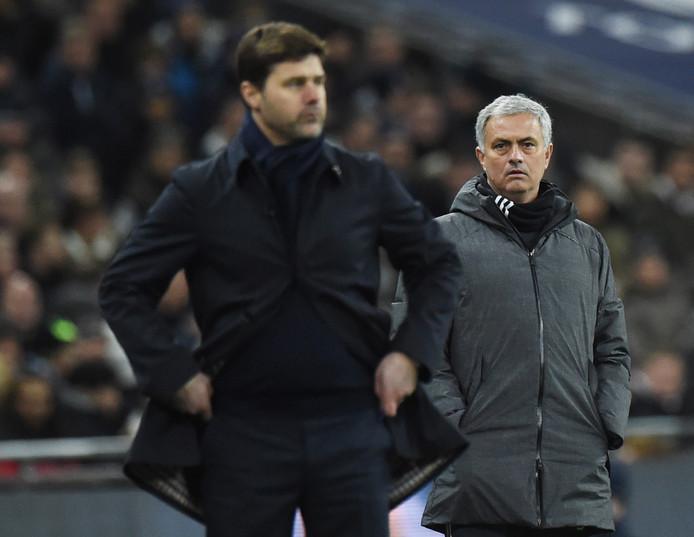 José Mourinho en Mauricio Pochettino.