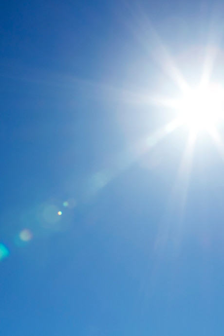 De zon was het beste dat de wereld had kunnen overkomen
