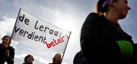 Vrijdag grote protestmars stakende leraren tijdens ochtendspits in Den Bosch