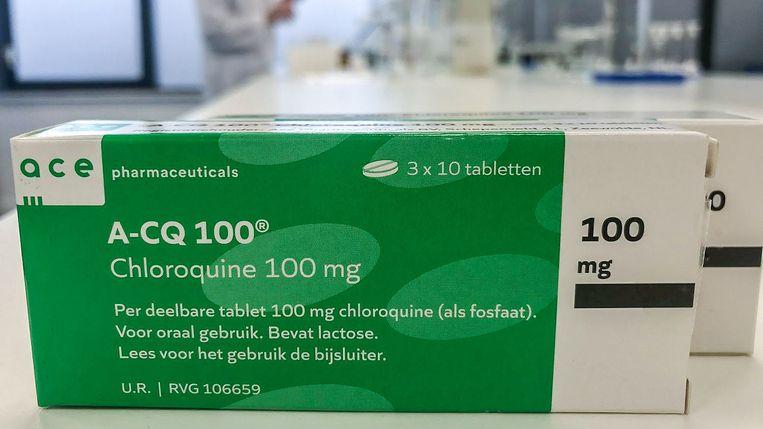 Ace Pharmaceuticals uit Zeewolde produceert het middel chloroquine. Beeld Privéfoto