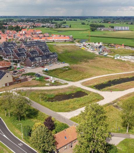 Hasselter nieuwbouwwijk schiet uit de grond