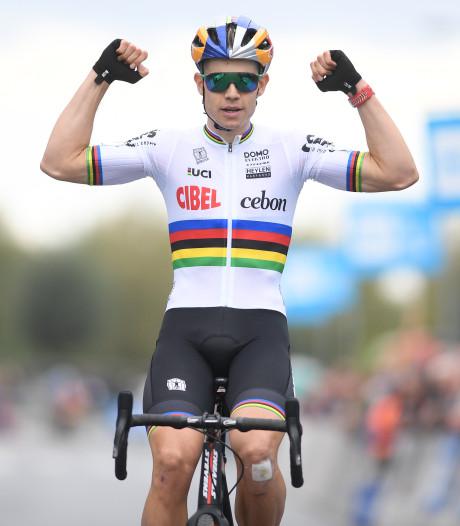 Wereldkampioen Van Aert pakt eerste zege van het seizoen