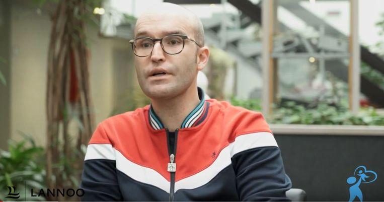 Leander Verdievel, de bedenker van de VRT-reeks 'Gevoel voor tumor'.