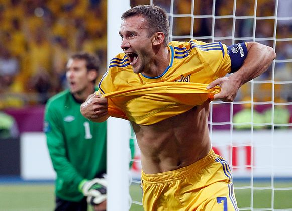 Shevchenko scoorde 48 doelpunten voor zijn land