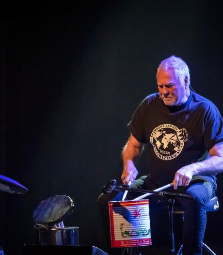 Drummer van Golden Earring wil drumspektakel bij openingsfeest randweg bij Baarle-Nassau