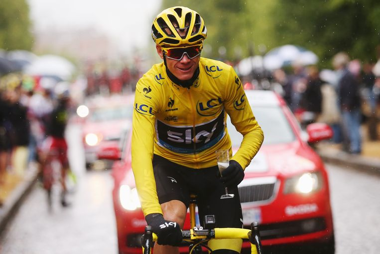 Chris Froome. Beeld getty