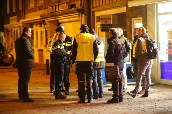 De politie deed op meerdere plekken onderzoek