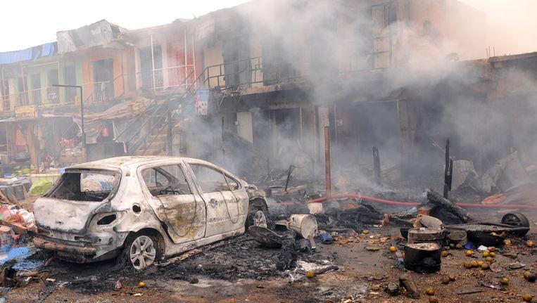 Bij een zware bomaanslag in Jos vielen gisteren meer dan 102 doden.