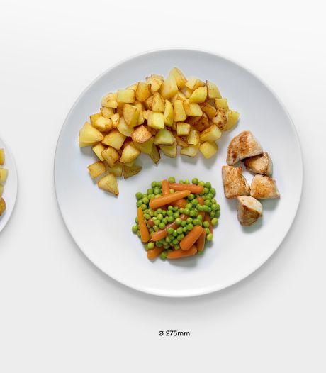 Met dit slimme bord krijgen kinderen tussen 4 en 8 jaar makkelijker hun groente binnen