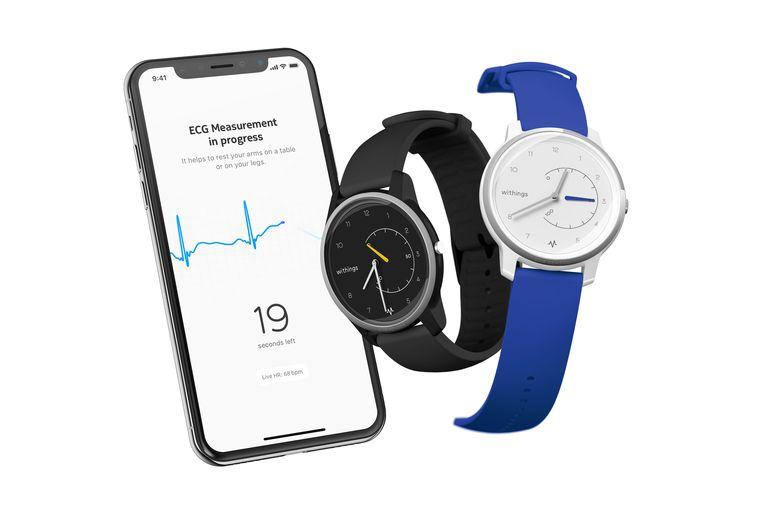 Withings bracht een smartwatch op de markt met een ingebouwde hartslagmeter die medisch bruikbare gegevens genereert.
