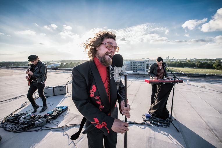 De Haagse rockband Di-rect. Beeld ANP Kippa