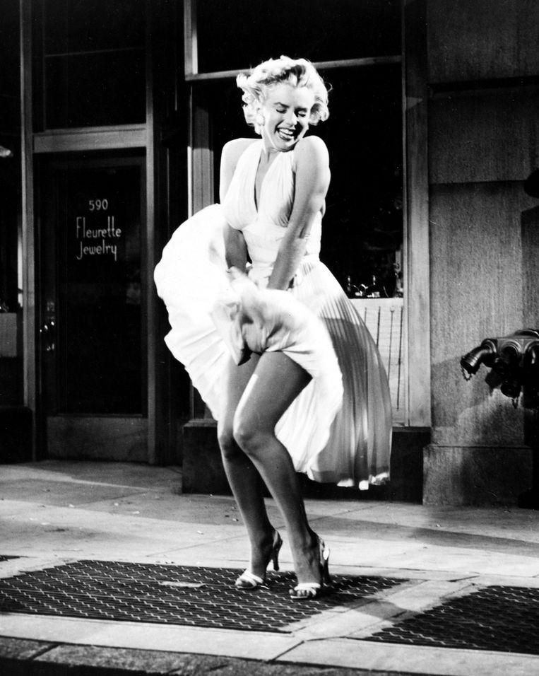 Het iconische beeld van Marilyn Monroe in 'The Seven Year Itch' (1955). Beeld