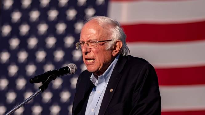 """Bernie Sanders geïnteresseerd in ministerspost als Biden wint"""