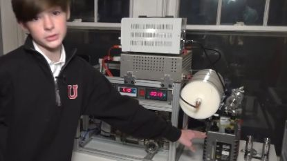 Wonderknaap van twaalf bouwt werkende kernfusiereactor in zijn kamer