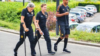 """Martínez: """"Bij elke speler schept zo'n scan duidelijkheid, bij Kompany niet altijd"""""""