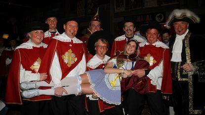 Burgemeester Verkest eventjes Lodewijk XIII