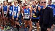 Eric Van Looy geeft startschot marathon