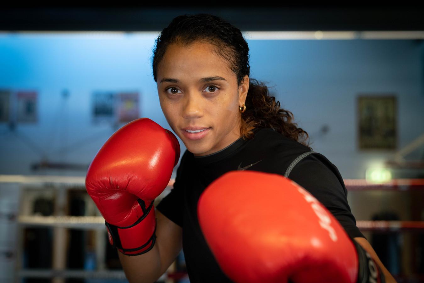 Jemyma Betrian is klaar voor het WK boksen, dat woensdag begint in India.