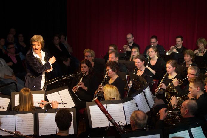 De harmonie eerder tijdens Maestro Bravissimo.