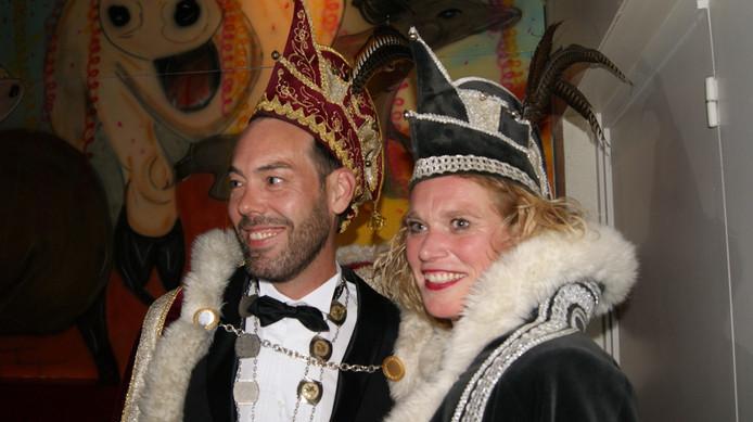 Prins Harold Reuser en adjudante Tanja van Hoof.