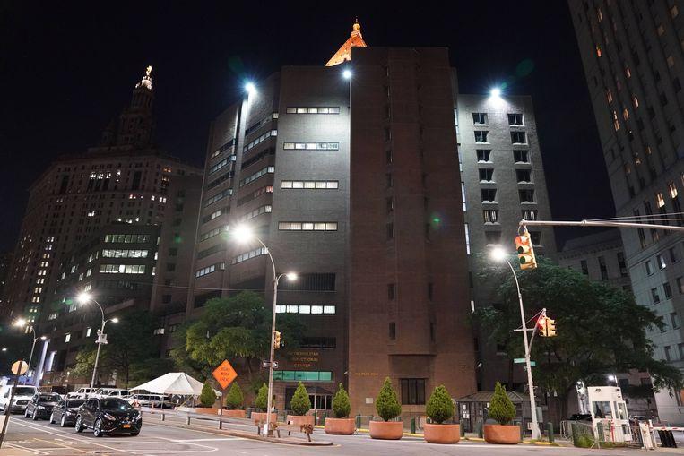 Het Metropolitan Correctional Center in New York waar Epstein zaterdag dood werd aangetroffen.