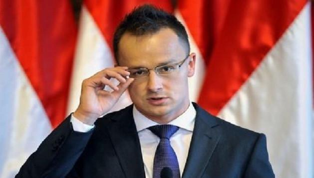 Le ministre hongrois des Affaires étrangères Peter Szijjarto.