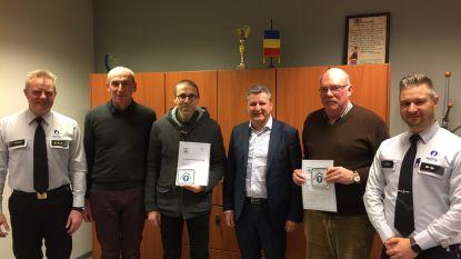 Politiezone Voer en Dijle reikt eerste 'Certificaten Inbraak Veilig' uit