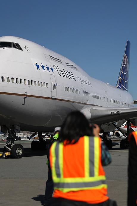 Boeing 747 voor ontmanteling naar Twente Airport