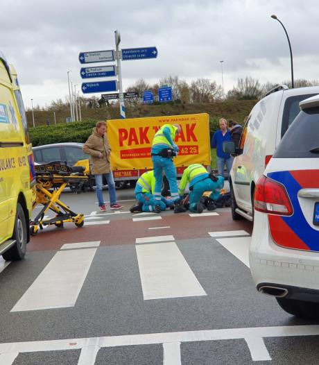 Aanrijding op Hanzeboulevard in Amersfoort