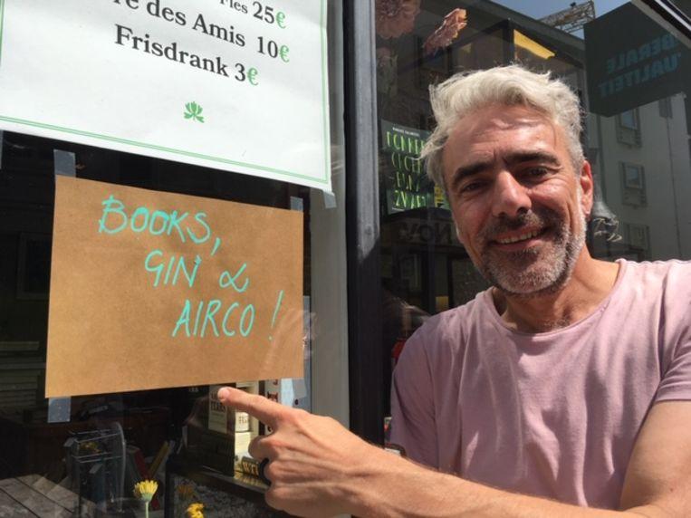Ief van Bookz & Booze heeft nu Books, Gin & Airco