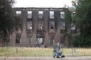 Een grote brand richtte op 31 augustus enorme schade aan op landgoed Haarendael in Haaren.