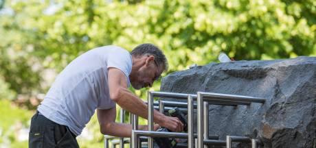 Herstel scheuren in kloostermonument Nuenen is monnikenwerk