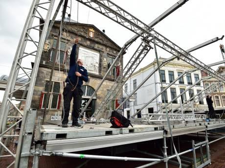 Hart van Oranje in Gouda: een Markt vol artiesten