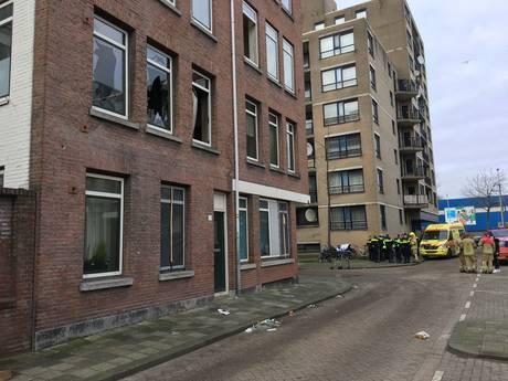 Dode bij brand in woning in Rotterdam-Crooswijk