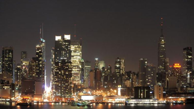 Belangrijke Gebouwen New York.Gebouwen In New York Doven Licht Voor Vogels De Morgen