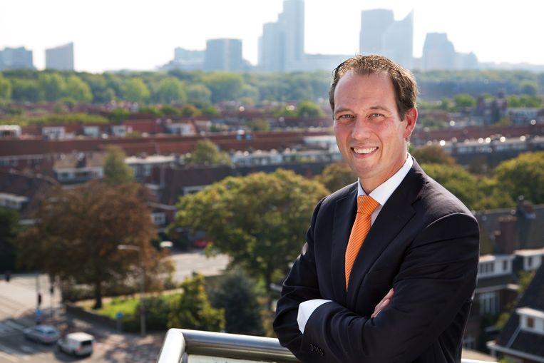 Boudewijn Revis (VVD), wethouder in Den Haag. Beeld Roos Trommelen